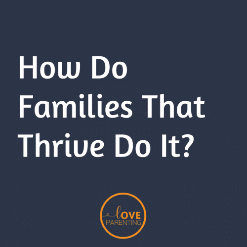 How Do Families That Thrive Do It?